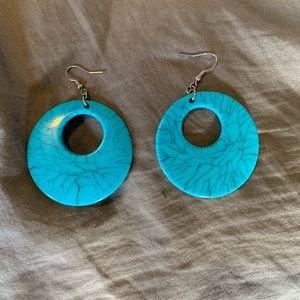 Accessories - Blue Earrings